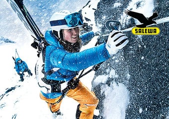 We 4 SALEWA: Climb to Ski Camp 2014