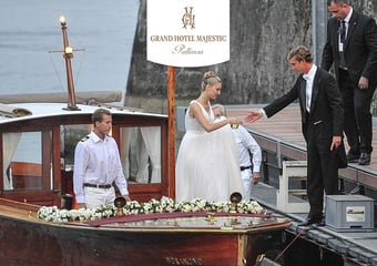 THE WEDDING OF THE YEAR IN ITALY: A VIP-ACTION IN THE SCOCIALS FOR THE  GRAND HOTEL MAJESTIC