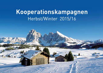 Cooperation campaigns Winter 2015/2016